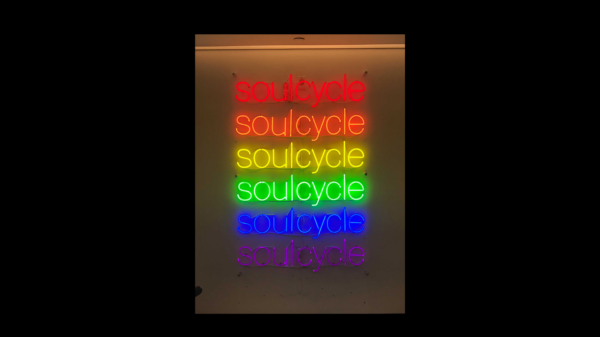 Soulcycle Rainbow